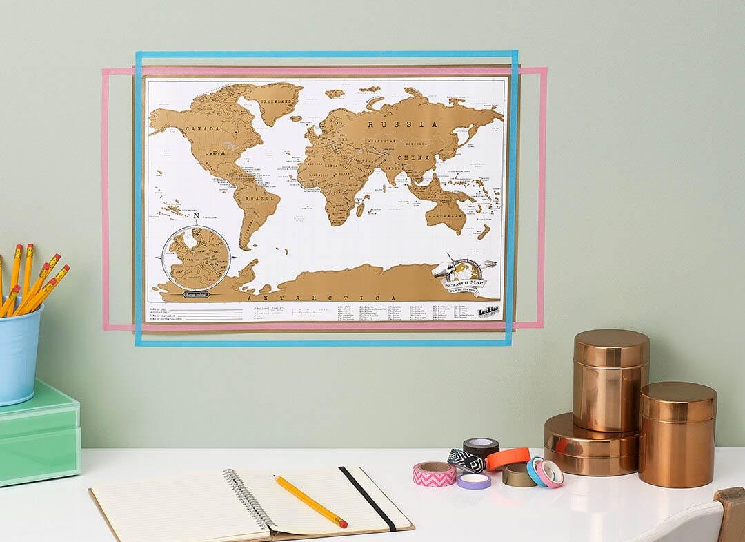 Harta razuibila portabila  varianta mini