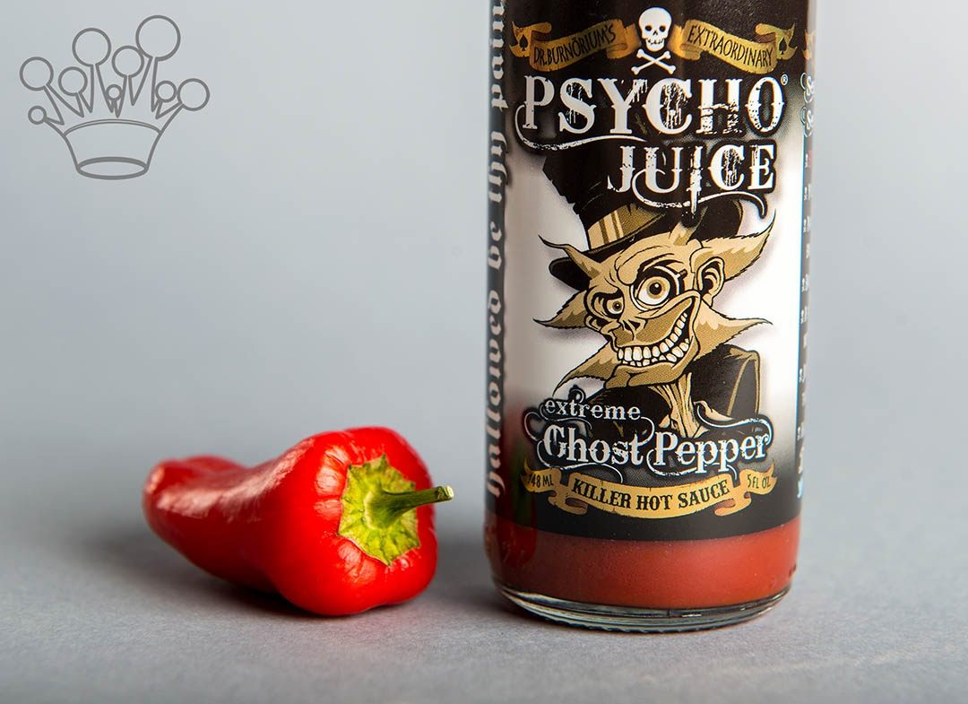 Sos iute Psycho Juice Extreme Ghost Pepper [iuteala 10+++] thumbnail