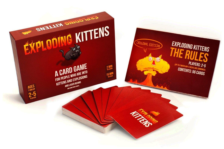 Joc de Carti Exploding Kittens thumbnail