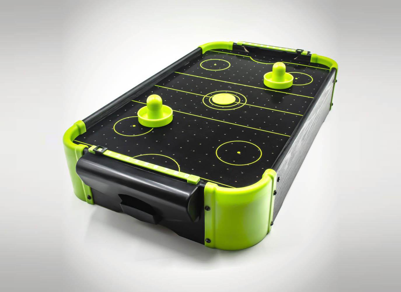 Masa air hockey cu elemente neon thumbnail