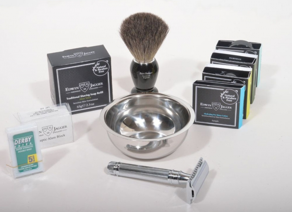 SET CADOU MY FIRST SHAVING KIT, EDWIN JAGGER
